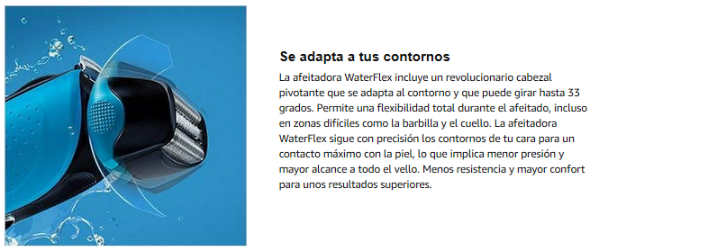 adapta contornos braun water flex