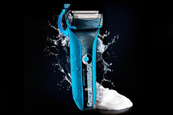 braun maquina afeitar water flex