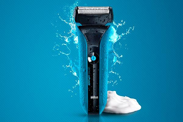 braun waterflex afeitadora