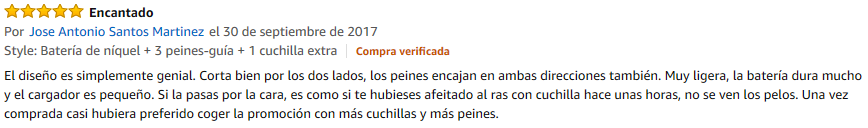 opiniones one blade de philips