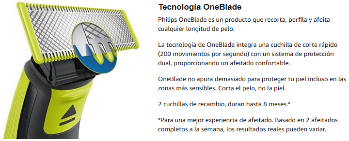tecnologia oneblade