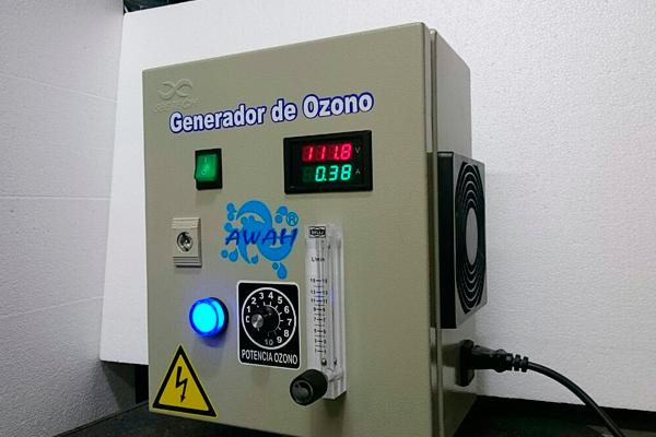 máquinas de ozono