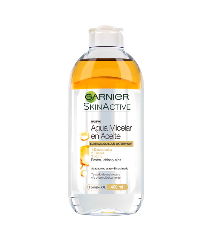garnier agua micelar aceite