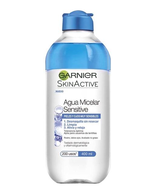 garnier agua micelar sensitive